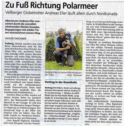 Haller Tagblatt 8.10.2012