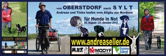 Andreas und Tinka sind am nördlichsten Punkt Deutschlands angekommen