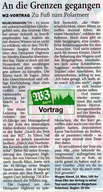 Wilhelmshavener Zeitung