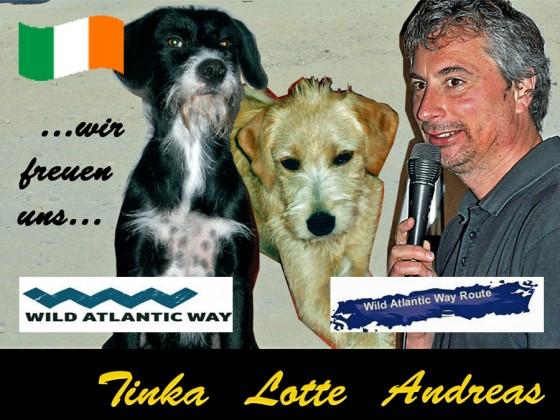 Andreas, Tinka und Lotte ab 16. Mai in Irland